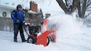Comment utiliser une souffleuse à neige électrique (2)